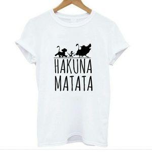 Tops - 'Hakuna Matata' graphic tee